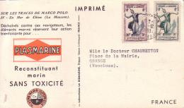 CAMBODGE - PHNOMPENH - IONYL - PLASMARINE - SUR LES TRACE DE MARCO POLO 1953-1954 - LA MOUSSON EN MER DE CHINE. - Cambodge