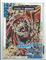 Carton Publicitaire - Made In Queen Star Des DJS Garage - étui Avec De Véritables Pâtes Alphabet - Paris Champs Elysées - Advertising (Porcelain) Signs