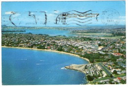 NEW ZEALAND-TAKAPUNA BEACH, NORTH SHORE, AUCKLAND / THEMATIC STAMPS-MARINE LIFE/FISH - Nuova Zelanda