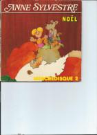 Anne SYLVESTRE  Noël  Mercredisque 2 45 Tours    Vinyle - Enfants