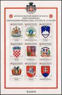 SOVEREIGN MILITARY ORDER OF MALTA-STAMPS-2001-COA OF DIFFERENT COUNTRIES- - Non Classés