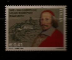 Italie Italia 2002 N° 2590 ** Cardinal, Mazarin, Maison Natale, Pescina, Diplomate, Ministre, Richelieu, Roi, Fortune - 2001-10: Ungebraucht