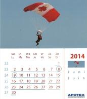 Apotex 2014 / Parachute - Calendriers