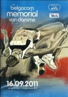 Programme Memorial Van Damme 2011 / 80p - Athlétisme