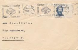 K4313 - Czechoslovakia (1955) Praha 025 (10): International Stamp Exhibition PRAGA 1955 (stamp: 60h Bedrich Smetana - Persönlichkeiten