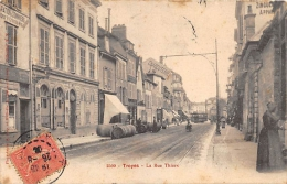 AUBE  10  TROYES  LA RUE THIERS - Troyes