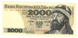 Poland 2000 Zlot, 1982, UNC. FREE SHIP TO USA. - Poland