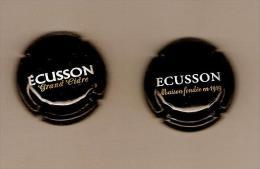 LOT De 2 Capsules CIDRE ECUSSON UN  GRAND CIDRE Et L'autre MAISON FONDEE En 1919 (divisible Sur Demande) - Other