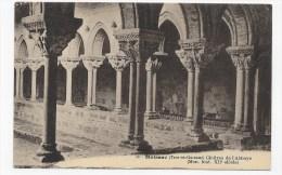 MOISSAC - N° 80 - CLOITRES DE L' ABBAYE - CPA NON VOYAGEE - Moissac