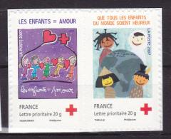 FRANCE - Adhésifs - Y & T. N° 145/146 - ** - 2007 . - France