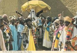 THE EMIR OF KANO AND HIS ENTOURAGE KANO NIGERIA - Nigeria