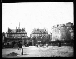 V0155 - ILLE ET VILLAINE - SAINT MALO - Porte Saint Vincent - Plaques De Verre