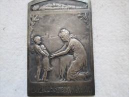 """Médaille Uniface""""Pupilles De La Nation""""en Argent Ou Métal Argenté Voir Scan Aucune Inscription - Autres Collections"""