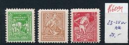 SBZ  Nr. 23-25a     **  (ff6091   )siehe Scan - Sowjetische Zone (SBZ)