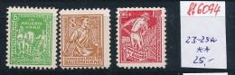 SBZ  Nr. 23-25a     **  (ff6094   )siehe Scan - Sowjetische Zone (SBZ)