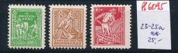 SBZ  Nr. 23-25a     **  (ff6095   )siehe Scan - Sowjetische Zone (SBZ)