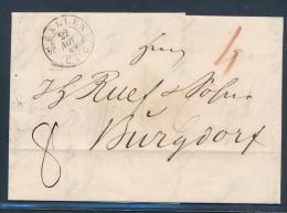 Schweiz  - St.Gallen  -Altbrief  ( Be502   ) Siehe Scan  ... - ...-1845 Préphilatélie