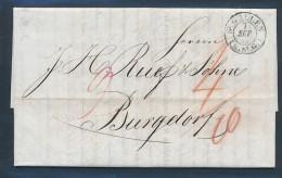 Schweiz  -   -Altbrief  ( Be496   ) Siehe Scan  ... - ...-1845 Préphilatélie