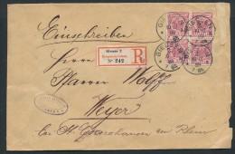 Krone/Adler R.-Brief ( Zz8591  ) Siehe Scan - Deutschland