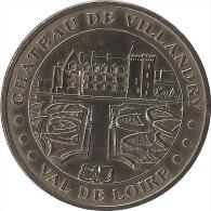 2004 - CHATEAU DE VILLANDRY 1 - Val de Loire / MONNAIE DE PARIS