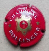 Capsule De Champagne - Bollinger - Lettre Fine  - N°26a - Bordeaux Or Brillant - Moet Et Chandon