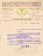 IMPRIMERIE à LIEGE 1908 Agence Publicitas - Printing & Stationeries