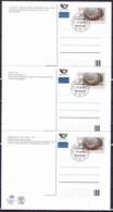 Tchéque République 2008, Carte Postale -  Prague (CPH 7.1 , CPH 7.2 Et CPH 7.3), Obliteration Premier Jour - Briefe