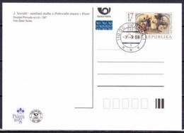 Tchéque République 2008, Carte Postale -  Prague (CPH 9), Obliteration Premier Jour - Briefe