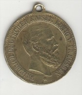 Pendentif Wilhelm II - Friedrich - Deutscher Kaiser - Konig V. Prussen - Allemagne