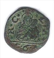 BEZZO DA 6 BAGATTINI, DETTO BEZZONE, SIGLE C. A. (Claudio Avogadro,1649-1650) - Monedas Regionales