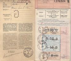 Schaerbeek / Schaarbeek: Livret D' épargne - Spaarboekje / Jaren '20 - Années '20. - Documents Historiques