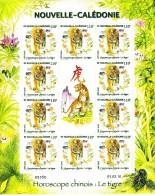 Nouvelle Calédonie N° 1093 Neuf** Année Lunaire Chinoise Du Tigre 10 Timbres + Logo - Neufs
