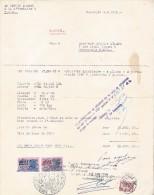 Namur / Namen / Facture Mr. Defooz Michel / Facture Pour Une Voiture 'STANDARD 8' / 1950 - Belgique