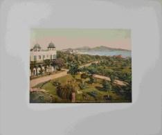 Las Palmas De Gran Canaria Photochrome 1900 The Isleta From San Catalina Hotel - Antiche (ante 1900)
