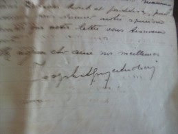 Lettre à En Tête Et LAS Autographe De Joseph Adoui Théatre Des Variétés Toulouse.  1924. Au Chansonnier Bessier - Autographes