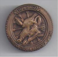 104 E Régiment Infanterie - Insigne  ( Mourgeon ) - Sanglier - Insigne & Ordelinten