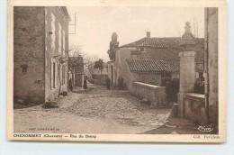 CHENOMMET - Rue Du Bourg. - Unclassified