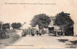 Champagné Les Marais : école Des Filles - France