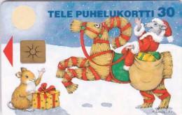 Finland, D145, Christmas 1997,  2 Scans.  Chip : Gem1 - Finlande