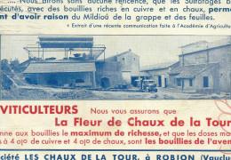 84 ROBION VAUCLUSE CHAUX BUVARD MINES - Farm