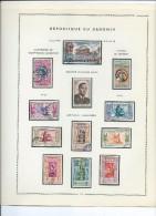 Magnifique Collection De Timbres  Presque Complete Sur Feuilles D'album.196/67 ,feuilles 14 à 20. - Bénin – Dahomey (1960-...)