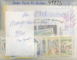 France Année 1995 Entre 2918 Et 2965 Complet Sauf Le 2934 Venant De Carnet - France
