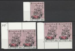 1996 San Marino Saint Marin GAZZETTA DELLO SORT 5 Serie MNH** - Francobolli