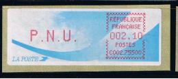 ATM, LSA, CROUZET, PAPIER COMETE, PNU 2.20, BUREAU DE PARIS LOUVRE, C002 75500. - 1981-84 LS & LSA Prototypes