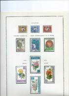 Magnifique Collection De Timbres  Presque Complete Sur Feuilles D'album.1967/75 ,feuilles 21 à30 - Bénin – Dahomey (1960-...)