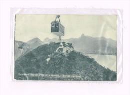 Caminho Aereo Pao De Assucar, Rio De Janeiro 1822- 1922 / Brésli/Brazil - Rio De Janeiro