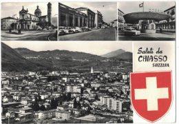 JA14      Saluti Da Chiasso - Svizzera - TI Ticino