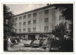 JA19      Siena  -  Chianciano Terme  - Grande Albergo San Marco - Siena