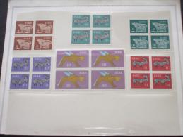 IRLANDA - 1976 PITTORICA 6 Valor, In Quartine (blocks Of Four)i - NUOVI(++) - 1949-... Repubblica D'Irlanda