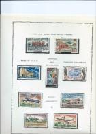 Magnifique Collection De Timbres  Presque Complete Sur Feuilles D'album.Poste Aérienne.1960/70-11  Feuilles. - Bénin – Dahomey (1960-...)
